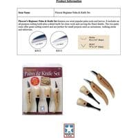 Flexcut 4 Piece Palm Chisel and Knife Set